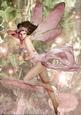Forest Fairy Acantha Pink A4