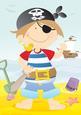 Mini Dude Pirate A4