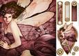 Forest Fairy Acantha (dark Pink) 8x8 Quick Card