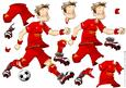 Football Dude from Liverpool Decoupage Sheet
