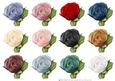 Hand Painted Rose Embellishments Small