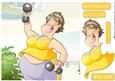 Get Fit Dudess 2 8x8 Quick Card