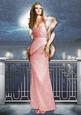 Art Deco Lady Pearl Christmas (light Pink) A4