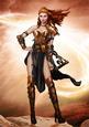 Gina Warrior Princess (copper) A4
