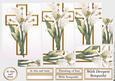 White Lily Cross Pyramid