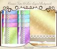 Romance Satin & Lace Layered Backgrounds