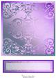 Etched Glass Card Fronts & Text Plate #4