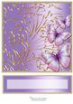 Butterfly Dreams Topper & Text Plate (lilac)