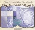 Satin & Velvet Mixed Pack Lavender