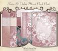 Satin & Velvet Mixed Pack Pink