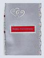 Stencilled Hearts Card