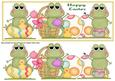 Easter Frogs