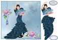 Flamenco Floral