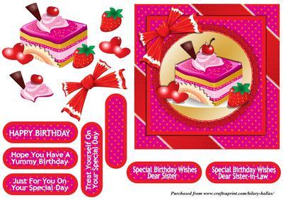 Pink Patisserie - Card Making