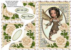 Steampunk Fairy Rose
