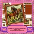 Mare & Foal 6x6 Easel Card Minikit