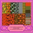 A4 Halloween Backgrounds