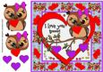 Cute Valentines Owls