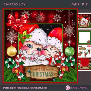 Santa's Joy Mini Kit