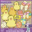 Easter Chick Family