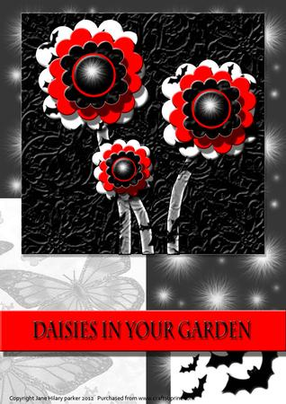 Daisies in Your Garden - Gothic