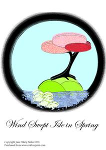Wind Swept Isle in Spring