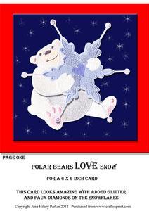 Polar Bears Love Snow