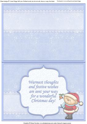 Holly Christmas Insert & Verse Matches Cup358682_68