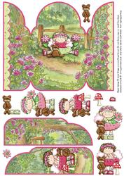 Gate Fold Pop Up Woodland Fairies