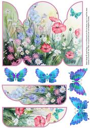 Gatefold Pop Up Meadow Butterflies