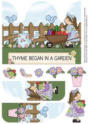 Gate Fold Pop Up Garden Gals