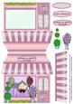 Florist Shop Quick Shape Card