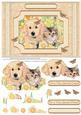 Cat & Dog Special Friends Decoupage