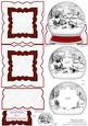 Sleigh Ride Inverted Snow Globe Easel Card