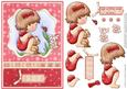 Hello Ladybird Card & Decoupage