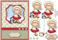 Christmas Maisy Muff Topper & Decoupage