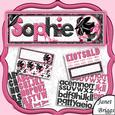 Create Any Name Fashion Accessories Card Kit