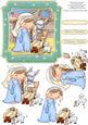 Izzy's Nativity Christmas Card Topper & Decoupage