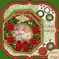 Christmas Wreath Builder Mary & Jesus Nativity Mini Kit