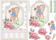 Roses for You Vintage Card Topper & Decoupage