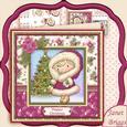 Snuggle Up Izzy Christmas 7x7 Mini Kit & Decoupage
