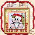 Purrfect Christmas Mini Kit & Decoupage