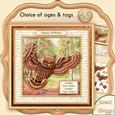 Wise Old Bird 8x8 Mini Kit with Ages & Decoupage