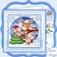 Special Christmas Friendship 8x8 Decoupage Mini Kit