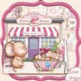 Nursery Mice Mother's Day, Baby, Shape Card Mini Kit