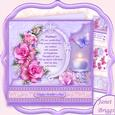 Mother Verse & Pink Roses Birthday or Mother's Day Mini Kit