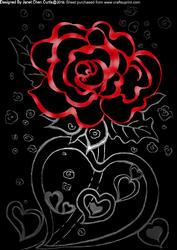 Sweet Heart with Roses