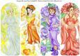 Floral Ladies Bookmark
