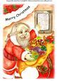Santa is Doing Xmas Checking-a4