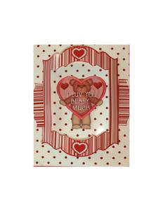 Push to Beau Valentine Teddy Kit